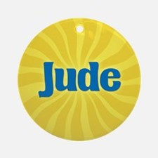 Jude Sunburst Ornament (Round)