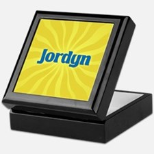 Jordyn Sunburst Keepsake Box