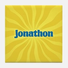 Jonathon Sunburst Tile Coaster