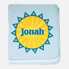 Jonah Sunburst baby blanket
