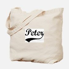 Vintage: Peter Tote Bag