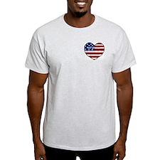 Heart Belongs to Ash Grey T-Shirt (M)