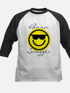 Swagged Out Emoticon T-shirt Kids Baseball Jersey