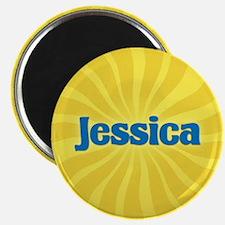 Jessica Sunburst Magnet
