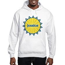 Jessica Sunburst Hoodie Sweatshirt
