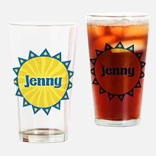 Jenny Sunburst Drinking Glass