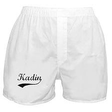Vintage: Kadin Boxer Shorts