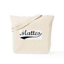 Vintage: Matteo Tote Bag