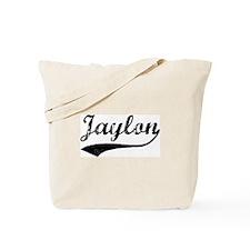 Vintage: Jaylon Tote Bag