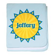 Jeffery Sunburst baby blanket