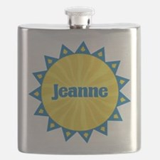 Jeanne Sunburst Flask