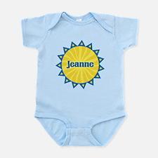 Jeanne Sunburst Infant Bodysuit