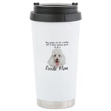 Poodle Mom Travel Mug