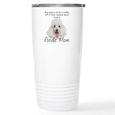 Poodle Mom Travel Coffee Mug