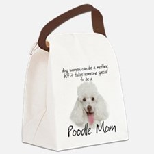 Poodle Mom Canvas Lunch Bag