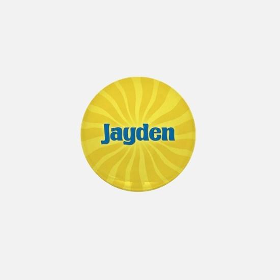 Jayden Sunburst Mini Button