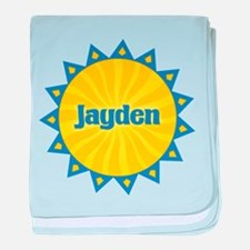 Jayden Sunburst baby blanket