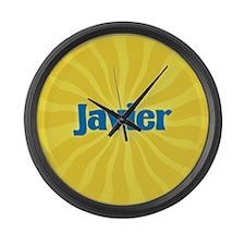 Javier Sunburst Large Wall Clock