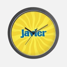 Javier Sunburst Wall Clock