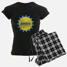 Janice Sunburst Pajamas