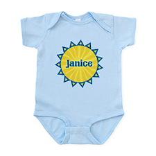 Janice Sunburst Infant Bodysuit