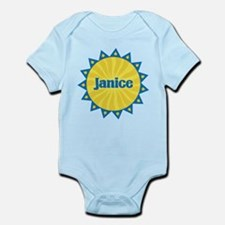 Janice Sunburst Infant Bodysuit