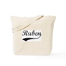 Vintage: Ruben Tote Bag