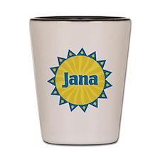 Jana Sunburst Shot Glass