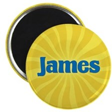 James Sunburst Magnet