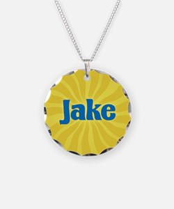 Jake Sunburst Necklace Circle Charm