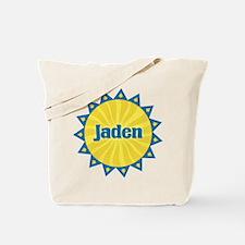 Jaden Sunburst Tote Bag
