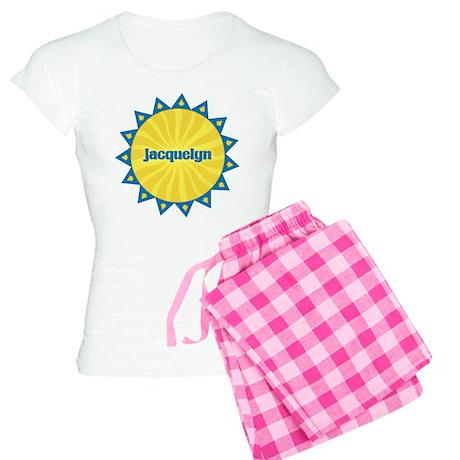 Jacquelyn Sunburst Women's Light Pajamas