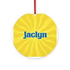 Jaclyn Sunburst Ornament (Round)