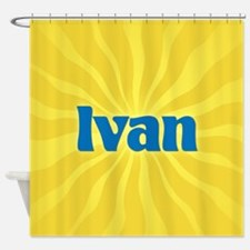 Ivan Sunburst Shower Curtain