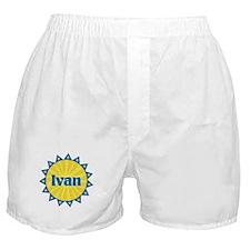 Ivan Sunburst Boxer Shorts