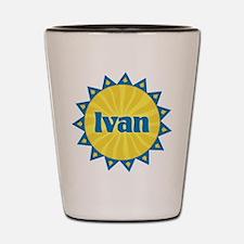 Ivan Sunburst Shot Glass