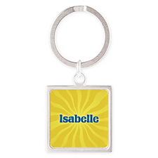 Isabelle Sunburst Square Keychain