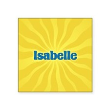 "Isabelle Sunburst Square Sticker 3"" x 3"""