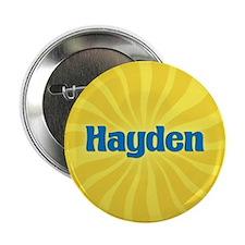 """Hayden Sunburst 2.25"""" Button"""