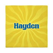 Hayden Sunburst Queen Duvet