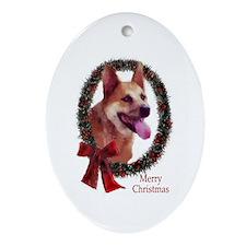 Australian Cattle Dog Ornament (Oval)