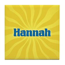 Hannah Sunburst Tile Coaster