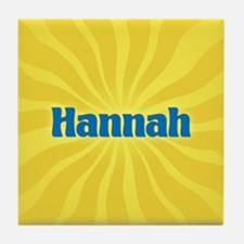 Hannah Sunburst Tile Coaster