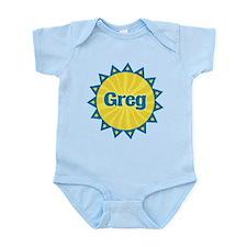 Greg Sunburst Infant Bodysuit