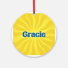 Gracie Sunburst Ornament (Round)