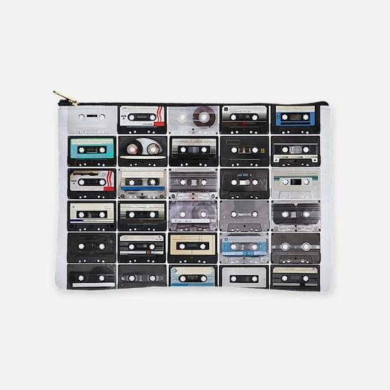 Cassette Tapes Makeup Pouch