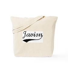 Vintage: Javion Tote Bag