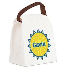 Gavin Sunburst Canvas Lunch Bag