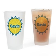 Gavin Sunburst Drinking Glass