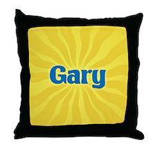 Gary Sunburst Throw Pillow